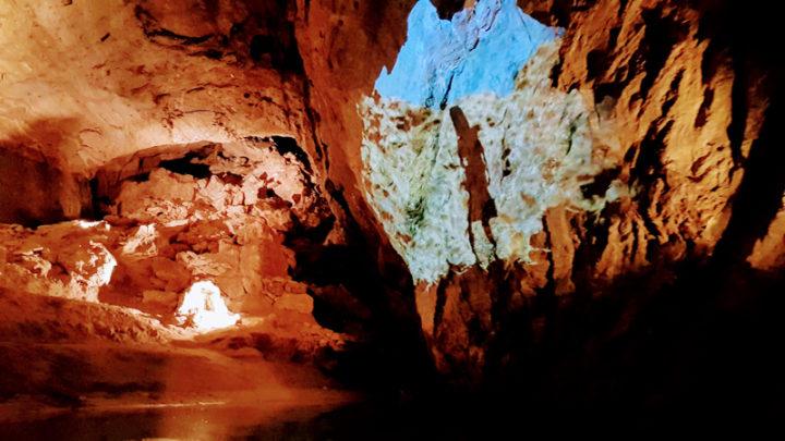 Le lac souterrain de Saint-Léonard