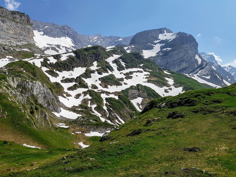 Le tour des Muverans, étape 1 (Pont-de-Nant – Derborence)