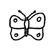 Détermination - Insecte - Silhouette - Lépidoptère