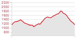 Randonnée - Tour de la Dent de Jaman - Dénivelé